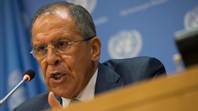 Canciller ruso: No hay tropas rusas en Ucrania