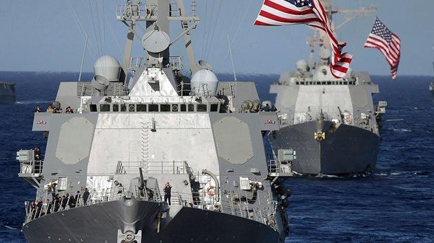 El Pentágono envía dos buques de guerra a las costas de Libia