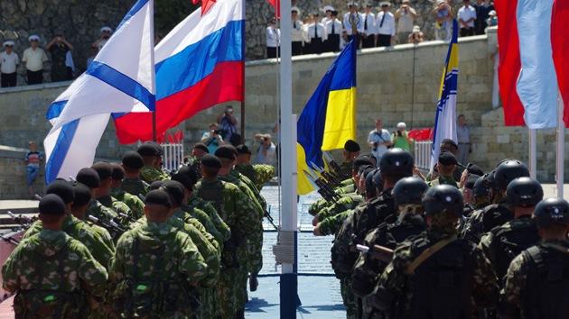 Más de 3.000 militares ucranianos le juran lealtad a Crimea