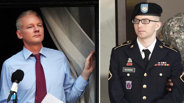 Assange: Procesos contra Manning y WikiLeaks buscan atemorizar al periodismo