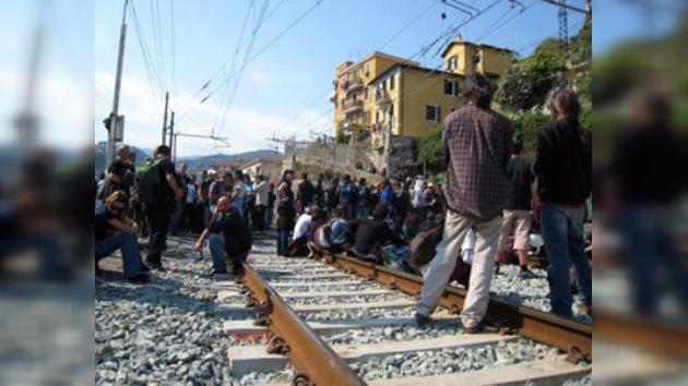 Tensión entre Italia y Francia por un bloqueo ferroviario y por la inmigración africana