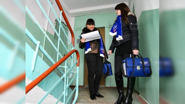 Hoy es el último día del censo 2010 de la población rusa