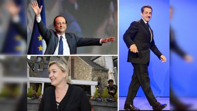 En vísperas de los comicios presidenciales en Francia la sociedad está polarizada