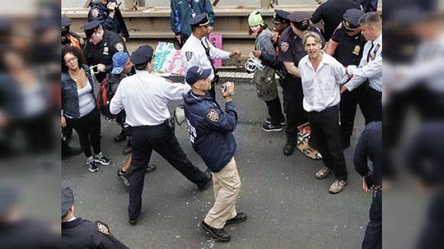 Los 'indignados' ya cuestan dos millones de dólares a la Policía de Nueva York