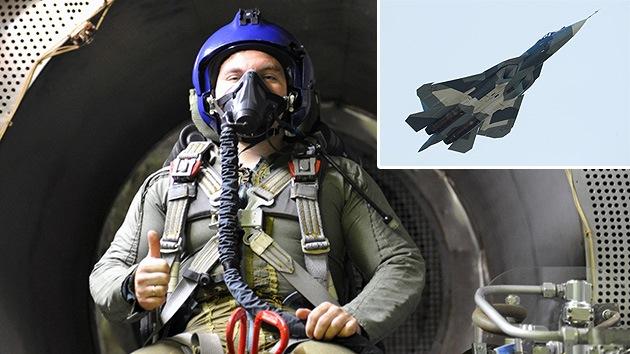 Los pilotos del PAK-FA tendrán una cantidad ilimitada de oxígeno