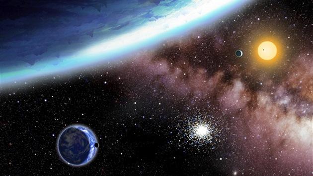 Descubren tres planetas capaces de albergar vida fuera del Sistema Solar