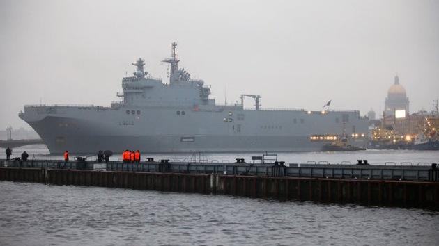 Francia suministrará buques Mistral a Rusia pese a la presión de EE.UU.