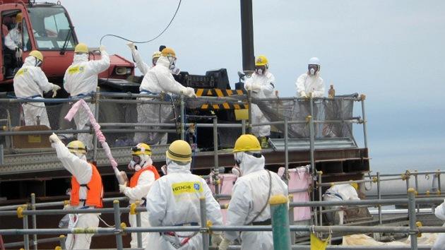 Un bloque de Fukushima se hunde amenazando con una catástrofe nuclear
