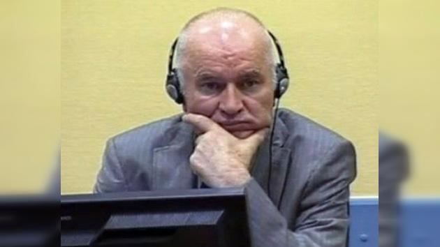 Mladic podría declararse en huelga de hambre si el TPIY no aprueba a sus abogados