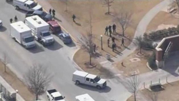 """El tiroteo en la Universidad de Oklahoma fue una """"falsa alarma"""""""