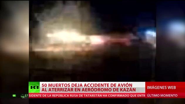 Confirmados los primeros datos sobre el siniestro aéreo en Kazán