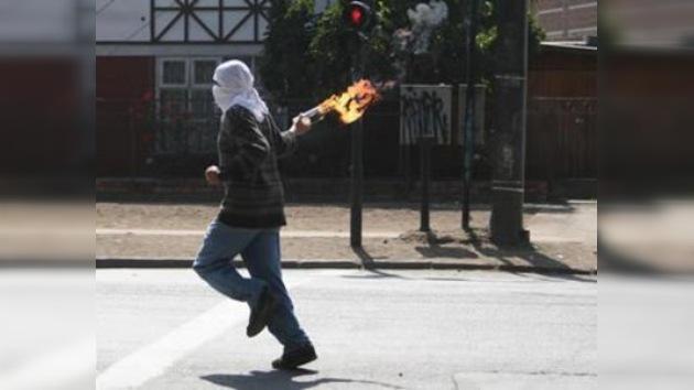 96 detenidos en Santiago tras las manifestaciones del 'Día del Combatiente'