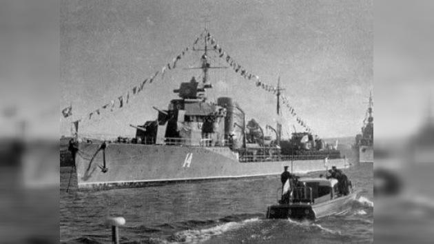 Los principales buques de guerra soviéticos entre 1941–1945