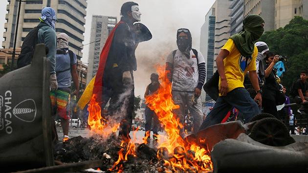 En Venezuela usan fotos falsas para acusar a los militares del asesinato de una joven