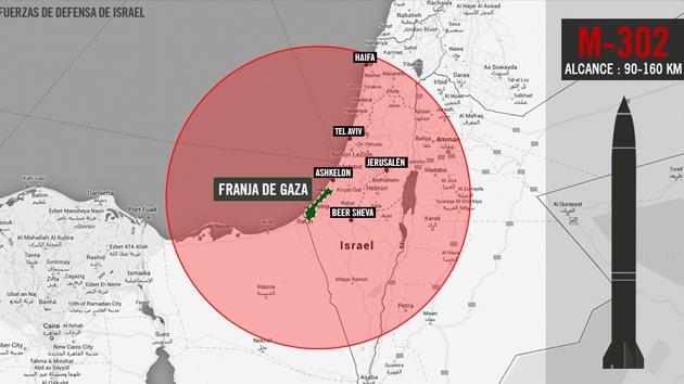 Israel crea polémica al publicar mapas de Argentina, México y España como blanco de misiles