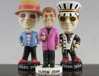 Se venden artículos personales de Elton John