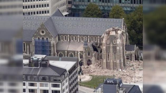 Hay 200 personas bajo los escombros después del terremoto neozelandés