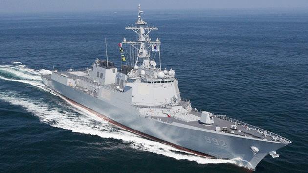 Corea del Sur se armará con tres nuevos destructores Aegis