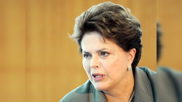 Dilma Rousseff está preocupada por la violencia femenina en Brasil