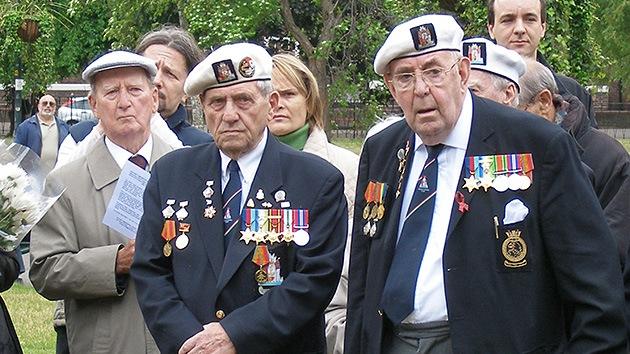 Reino Unido prohíbe a veteranos de la II Guerra Mundial recibir una medalla rusa