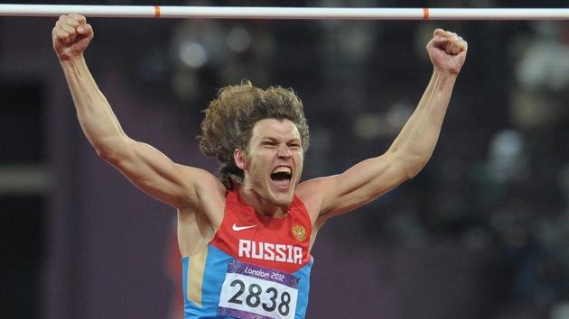 Londres 2012: Iván Újov conquista el oro para Rusia en salto de altura