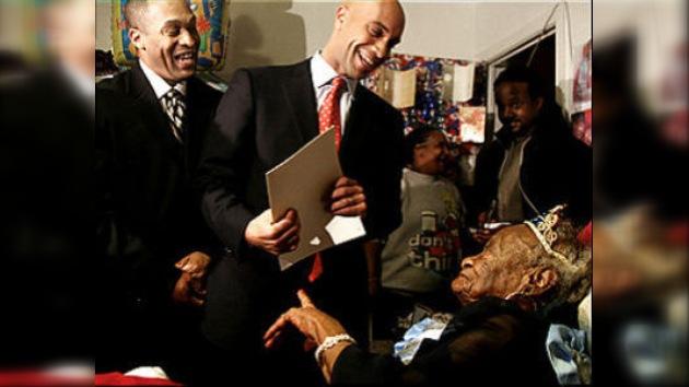 La ciudadana más vieja de Washington celebró su cumpleaños 110
