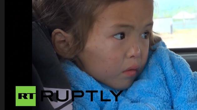 Video: Un dron ayuda a rescatar a una niña perdida en un bosque de Siberia