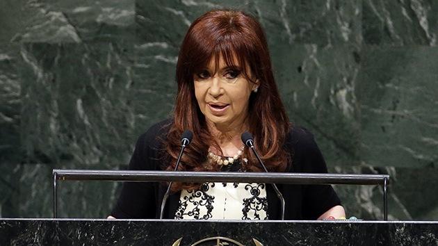 """Kirchner: """"Quieren voltearme, si me pasa algo miren al norte"""""""