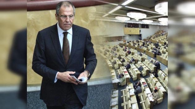Parlamento ruso ratificará nuevo START a principios del próximo año