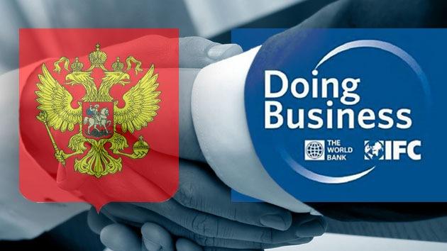Rusia integra la lista de los 100 mejores países para hacer negocios