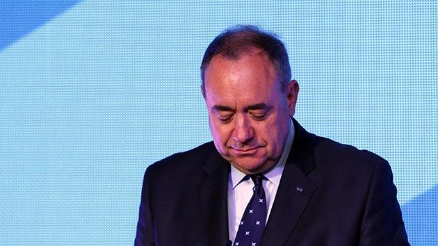 """Líder independentista: Escocia fue disuadida de independizarse por un """"engaño"""""""