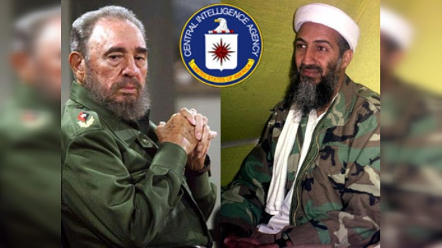 """Castro: """"Bin Laden es un agente secreto de CIA"""""""