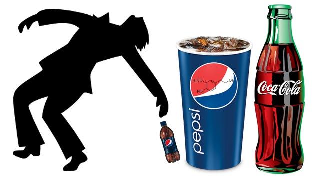 Coca Cola y Pepsi contienen alcohol