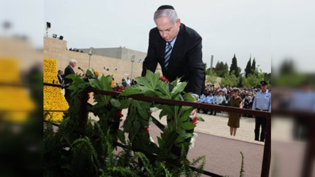 Israel rinde homenaje a las víctimas de Holocausto nazi