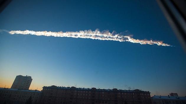 La onda expansiva del meteorito de Cheliábinsk recorrió la Tierra dos veces