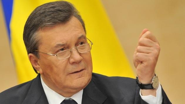 Kiev solicitó a la Interpol el arresto del presidente de Ucrania, Víktor Yanukóvich