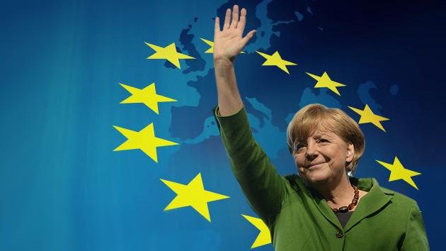 Angela Merkel sueña con unos Estados Unidos de Europa en su tercer mandato