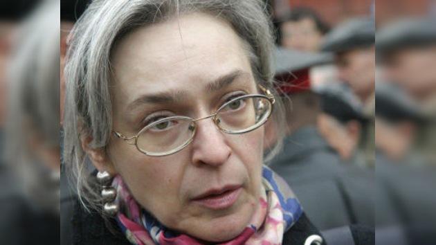 Un ex jefe policial, detenido como sospechoso de organizar la muerte de Politkóvskaya