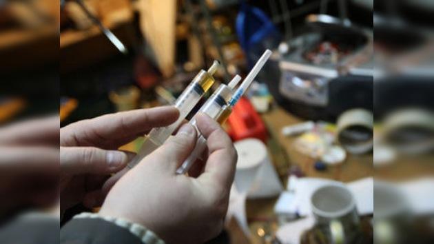 Rusia busca medidas para combatir el grave problema de la drogadicción en el país
