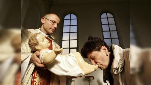 Los católicos de Moscú celebran la Navidad