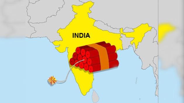 Anuncian alerta nacional contra el terrorismo en la India