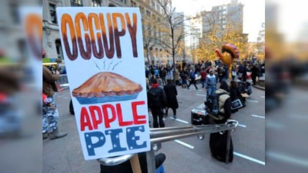 Ocupa Acción de Gracias: edición especial de los indignados de Nueva York para esta fiesta