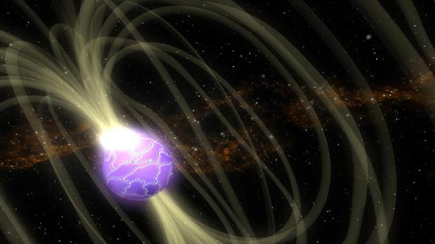 Cientistas descobrem uma estrela gigante com o maior campo magnético já vi