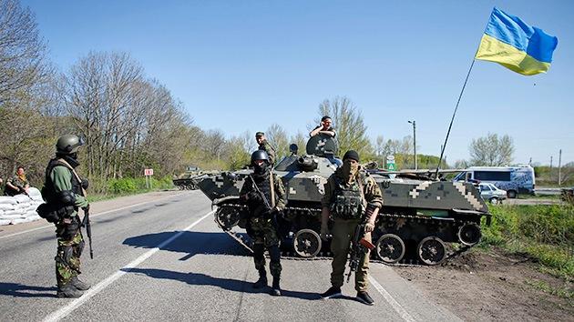 Kiev renueva la fase activa del operativo especial en el este de Ucrania