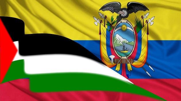 Ecuador anuncia la apertura de una embajada en Palestina