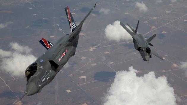 El caza 'invisible' F-35 no es capaz de ocultarse de los radares