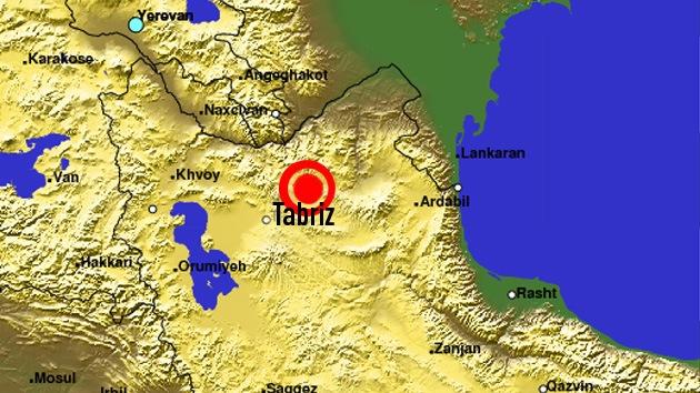 Terremoto de 6,6 grados sacude a Irán