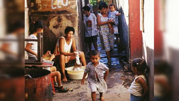 Un 30% de la población de Argentina es pobre