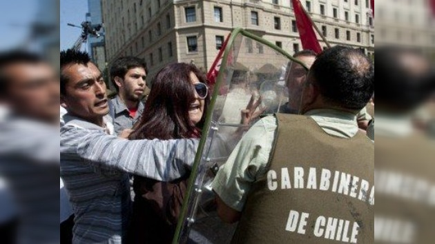 Aprobado el presupuesto de educación de 2012 en Chile pese a las protestas
