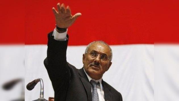 Saleh llega a EE. UU. para recibir tratamiento médico